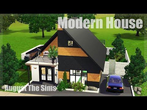 The Sims 3 - Speed Build | Современный Дом 2