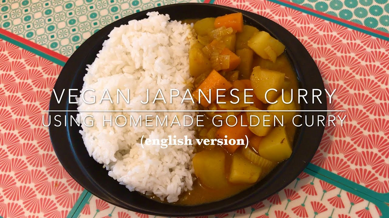 Recipe Vegan Japanese Curry With Homemade Golden Curry Heylittlejean Youtube