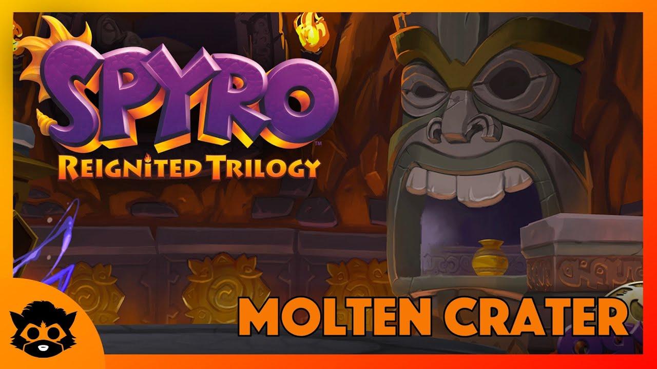 Spyro 3 (Reignited) | Part 5: Molten Crater 100% (All Gems & Eggs)