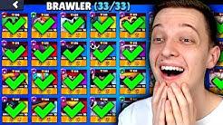 ALLE 33 BRAWLER IN 1 VIDEO SPIELEN! 😯 Brawl Stars deutsch