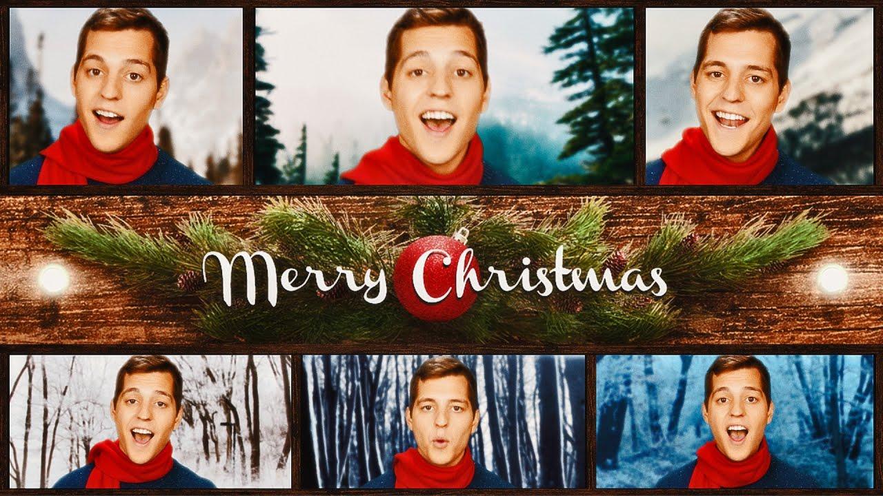 ACAPELLA CHRISTMAS CAROL MEDLEY | Landon Stahmer - YouTube