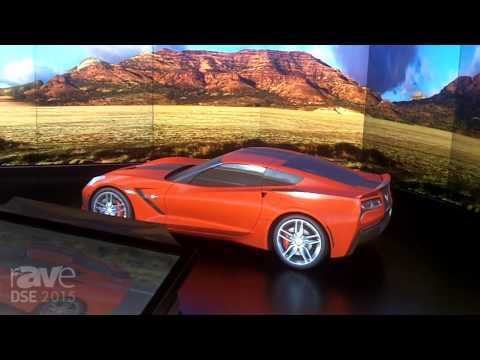 DSE 2015: Christie Talks About 3D Projection Mapping and MicroTile Backdrop