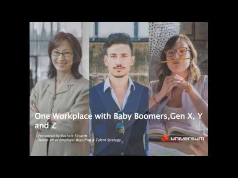 One Workplace with Gen X, Y and Z - Webinar on 24th Feb, 2017