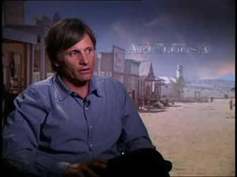 Viggo Mortensen interview for the movie Appaloosa