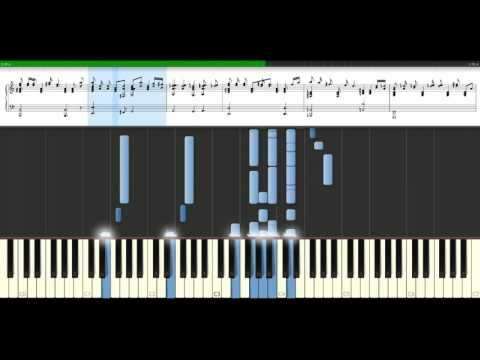 Cher  After all feat Peter Cetera Piano Tutorial Synthesia