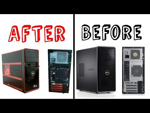 DIY | How To Customize Your PC Case + RGB