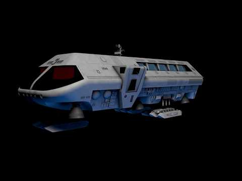 2001 A Space Odyssey Moonbus (CGI Model)