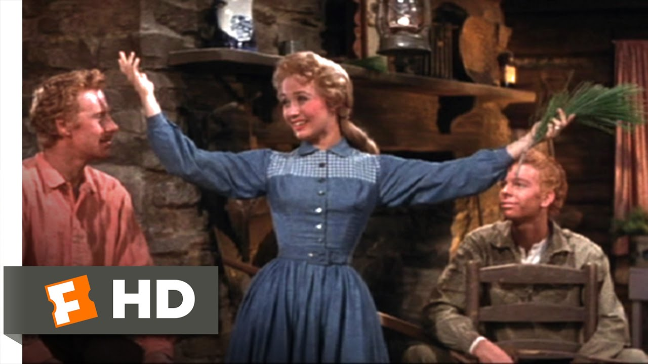 Download Seven Brides for Seven Brothers (4/10) Movie CLIP - Goin' Courtin' (1954) HD