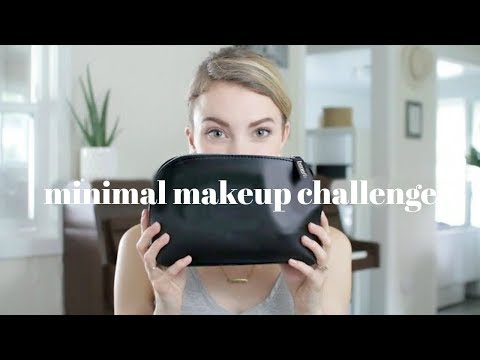 MINIMALISM | 30 Minimal Makeup Challenge | 500+ Products Down To 11!