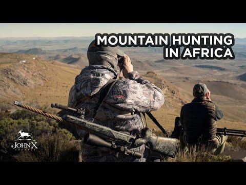 Mountain Hunting In Africa   John X Safaris