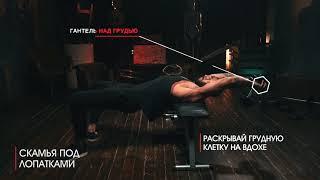 Тренировка Кратоса: ПУЛОВЕР С ГАНТЕЛЬЮ 3х10