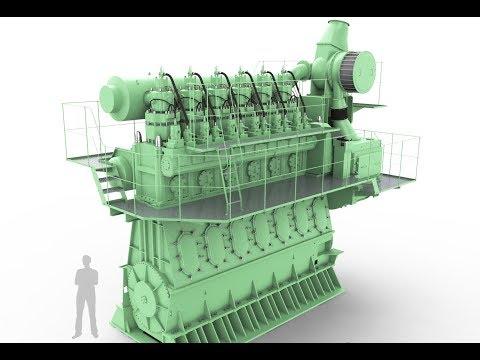 Emergency starting of Main Engine Sulzer 7RTA 84 T-D