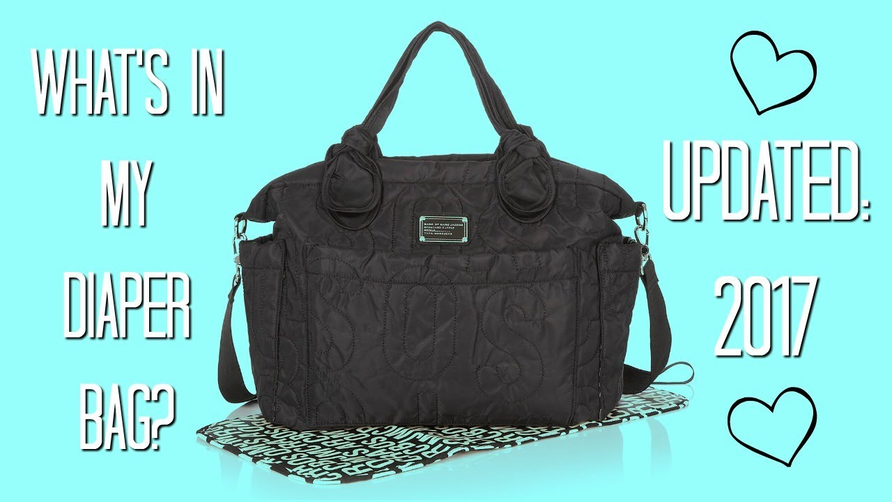 1fca8fba494fd What's In My Diaper Bag? - MBMJ 'Pretty Nylon Eliz-A-Baby' Diaper Bag