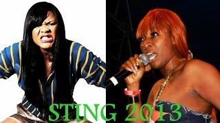 Sting 2013! Macka Vs Lady Saw. 2 Chains? SuperCat is Back, Vybz Kartel?