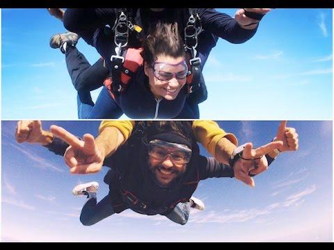 Manu dans le 6/9 - Oriane et Mourad le producteur ont sauté en parachute !