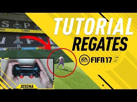 FIFA 17 TUTORIAL DE REGATES, FÁCILES, EFECTIVOS Y DESTRUCTIVOS | COMO REGATEAR TUTORIAL