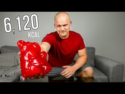 The World's Largest Gummy Bear (6,120 KCAL)