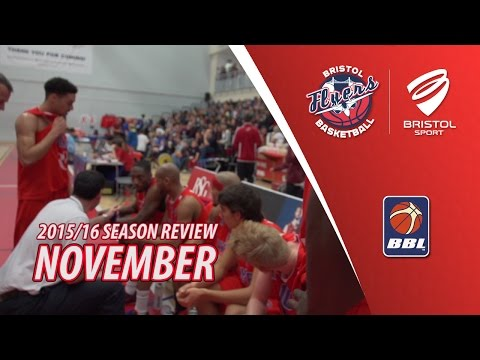 Bristol Flyers Season Review - November 2015