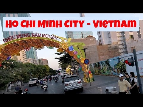 Scenes of Saigon - Ho Chi Minh City - Vietnam 2017