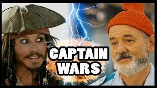 CAPTAIN JACK SPARROW vs CAPTAIN STEVE ZISSOU - Captain Wars