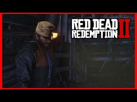 SECRET MINING HAT IN RED DEAD REDEMPTION 2! (Secret Mineshaft)