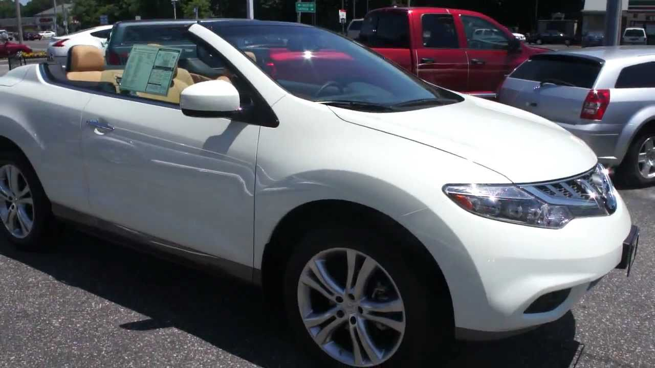 Brand New Nissan Murano Convertible Crosscabriolet For Awesome You
