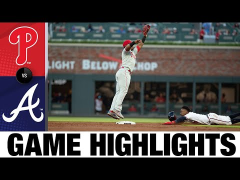 Phillies vs. Braves Game Highlights (5/8/21)   MLB Highlights
