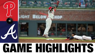 Phillies vs. Braves Game Highlights (5/8/21) | MLB Highlights