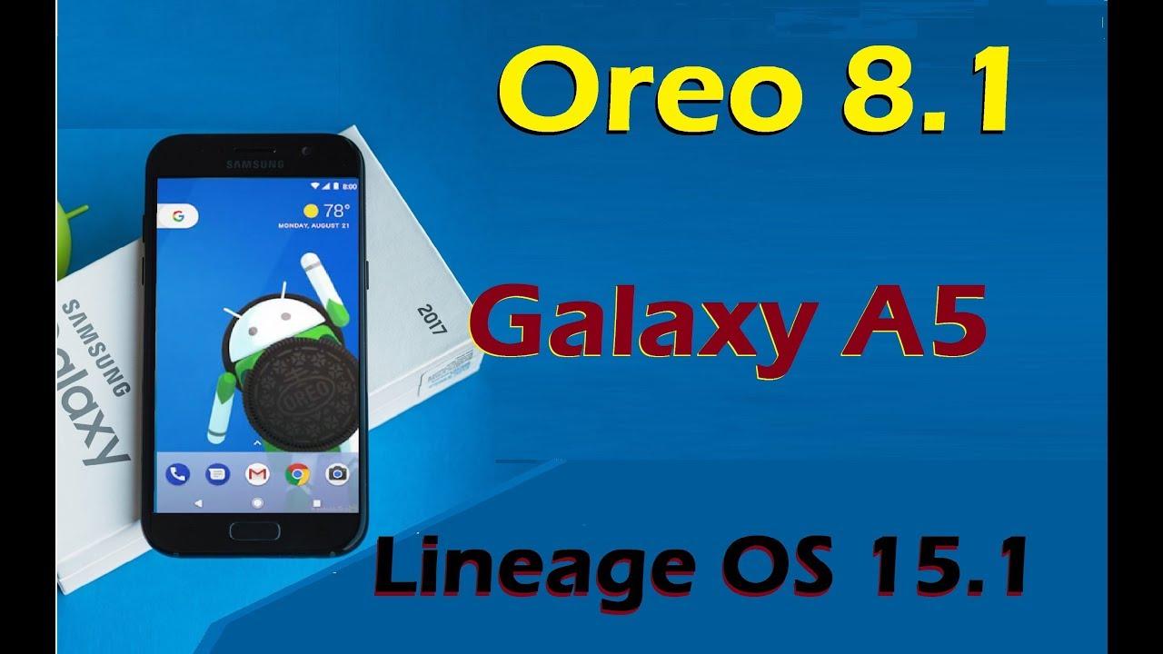 Android Oreo A5 2017 – Idea di immagine del torta