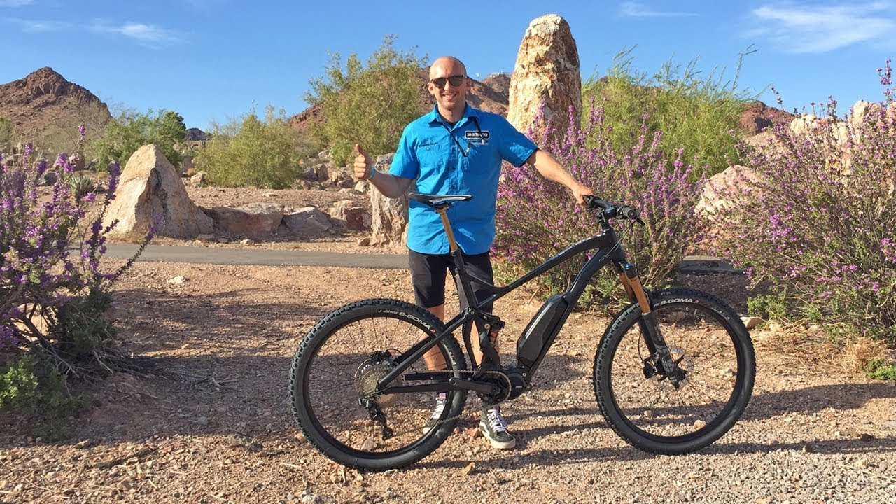 2018 Shimano Electric Bike Updates from Interbike (STePs E8000 Mid Drive  Motor, XT Cranks)
