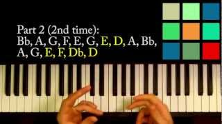 "How To Play ""Bella Reborn"" Piano Tutorial (Carter Burwell)"