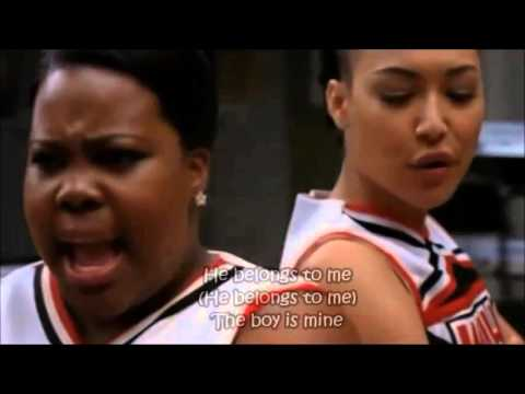 Glee - The Boy Is Mine (Full Performance with Lyrics)