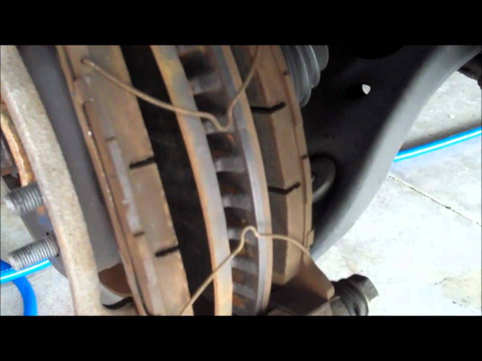 2007 Camry Hybrid Front Disc Brake Pad Change