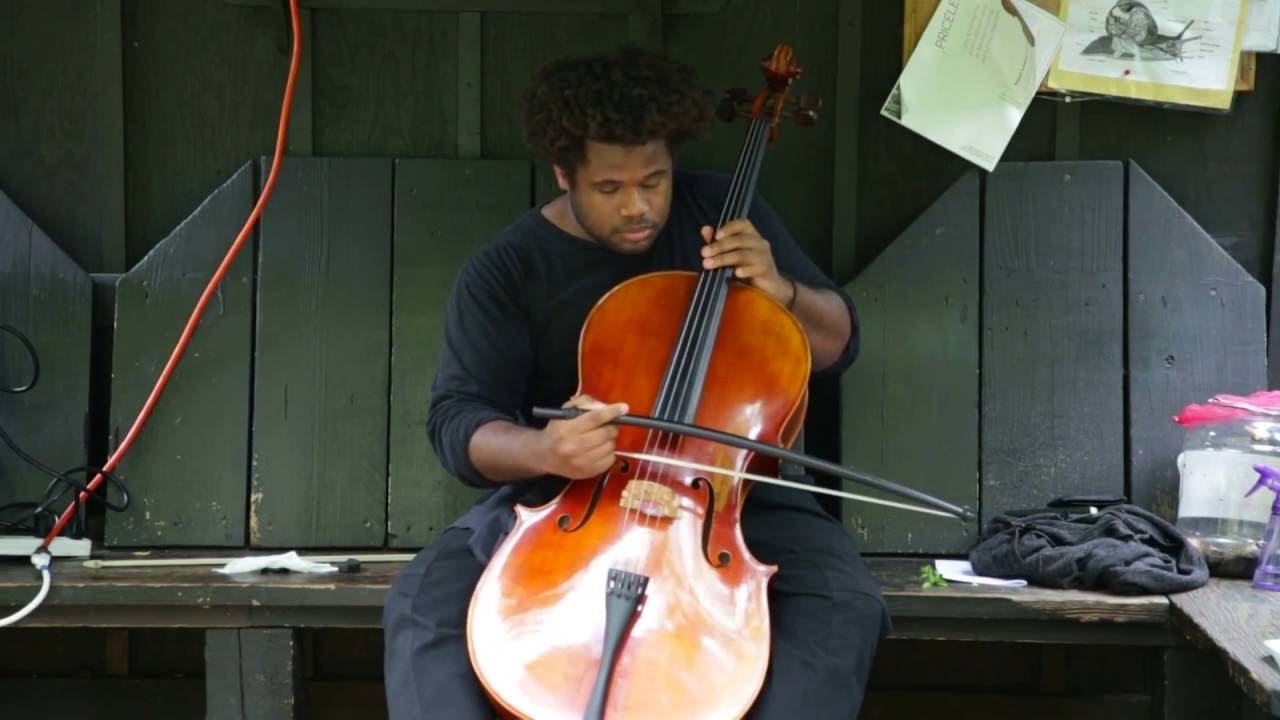 Download Lester St. Louis - solo cello - at 6BC Gardens - Arts for Art, NYC - October 2 2016