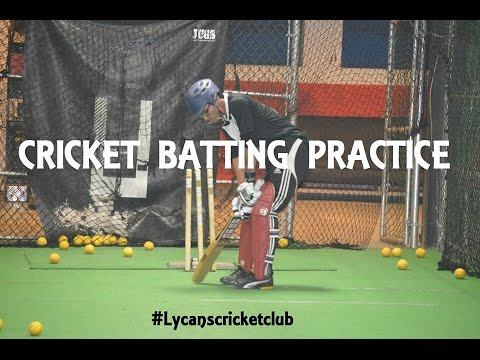 Cricket Batting Practice -  Lycans Cricket Club