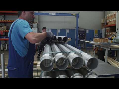 GERMAN WATER and ENERGY GROUP – Stainless steel production
