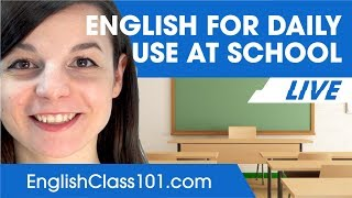 How to Talk About Your Studies and Education - Basic English Phrases