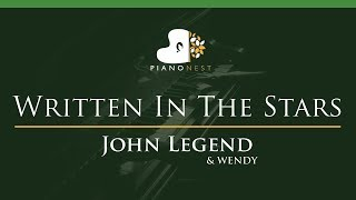 John LegendWENDY Written In The Stars LOWER Key
