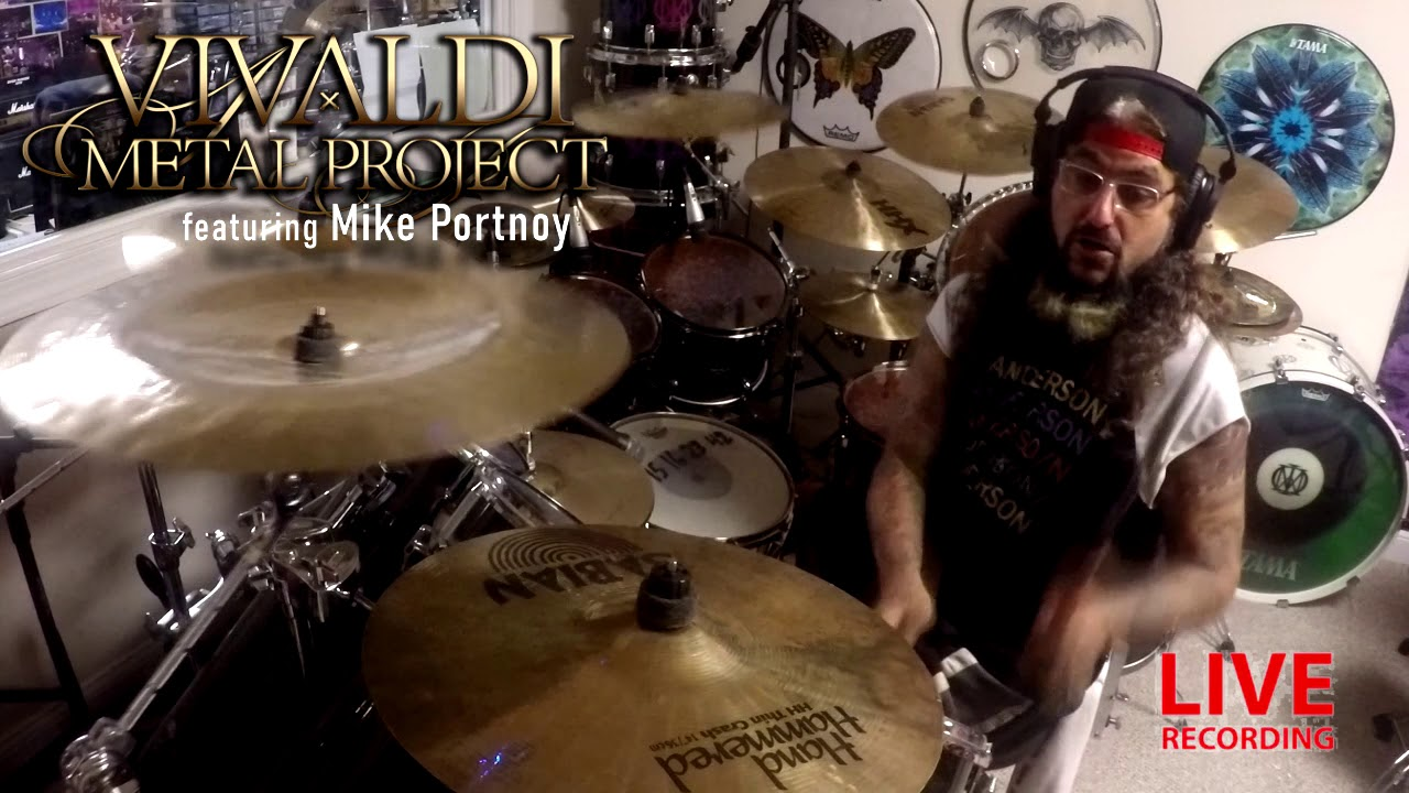 Vivaldi Metal Project ft. Mike Portnoy - New album exclusive studio report!