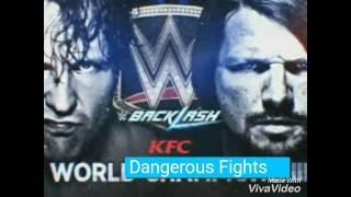 AJ Styles vs Dean Ambrose Full Match  Full Match | WWE Backlash 2016 || WWE World Championship Match