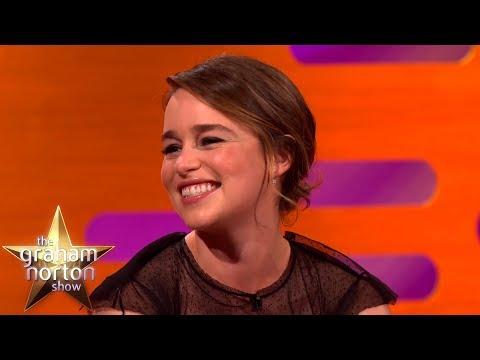 Emilia Clarke LOVES Matt LeBlanc  The Graham Norton  CLASSIC