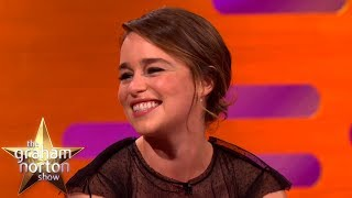 Emilia Clarke LOVES Matt LeBlanc | The Graham Norton Show CLASSIC CLIP