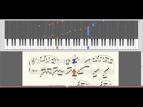 [Piano tutorial] Butterfly Lovers (Liangzhu 梁祝)