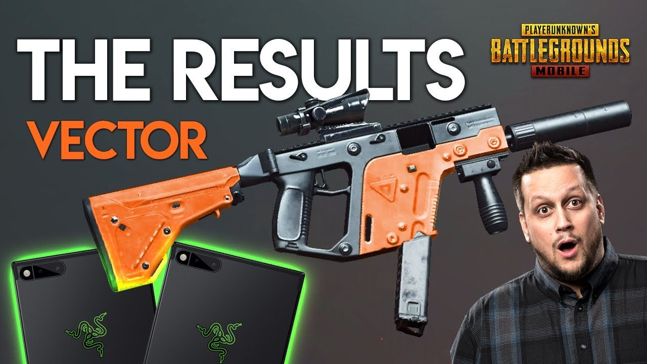 All Pubg Weapons Skins How To Get Them: THE RESULTS. VECTOR, WEAPON SKINS & PHONES... PUBG Mobile