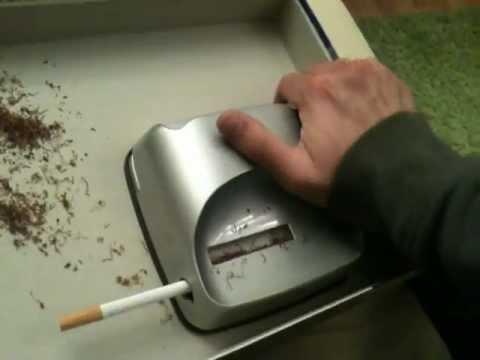 turbo matic cigarette machine