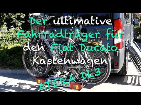 fiat ducato fahrradtr ger auf anh ngerkupplung t ren l. Black Bedroom Furniture Sets. Home Design Ideas