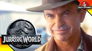 Alan Grant In Jurassic World 3? Jurassic World Theory And Discussion Video