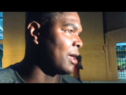Keyshawn Johnson discusses his son