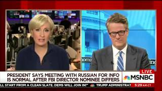 Scarborough: Sean Spicer Sounds Like Old