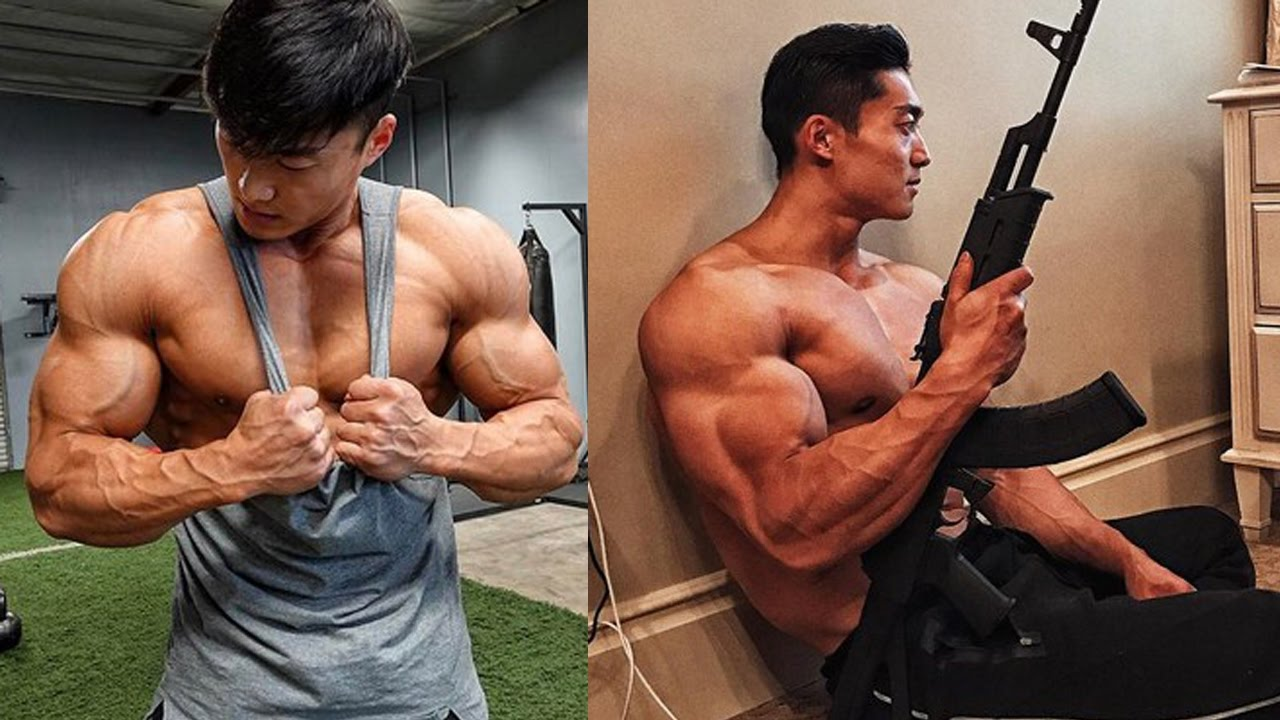 Long Wu First Ever IFBB Pro Fitness Model from China - YouTube